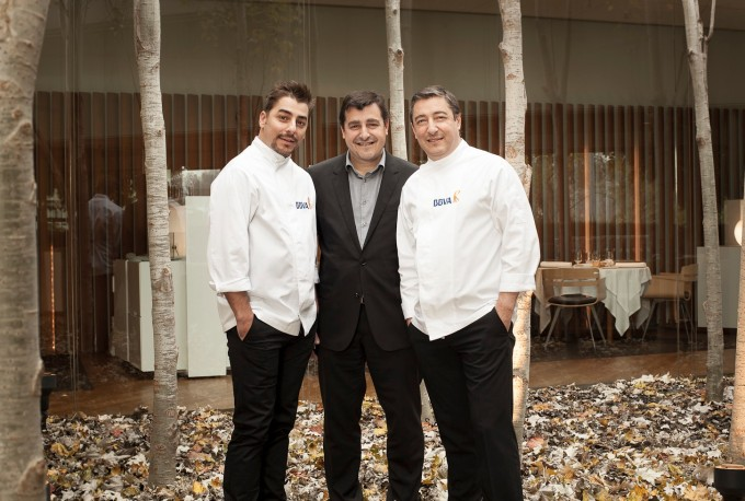 Three brothers at El Celler