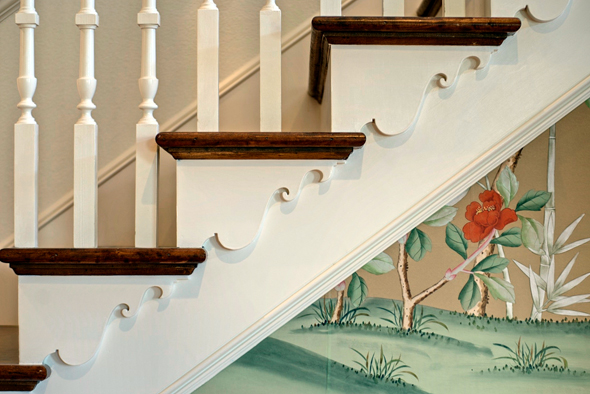 early-american-staircase