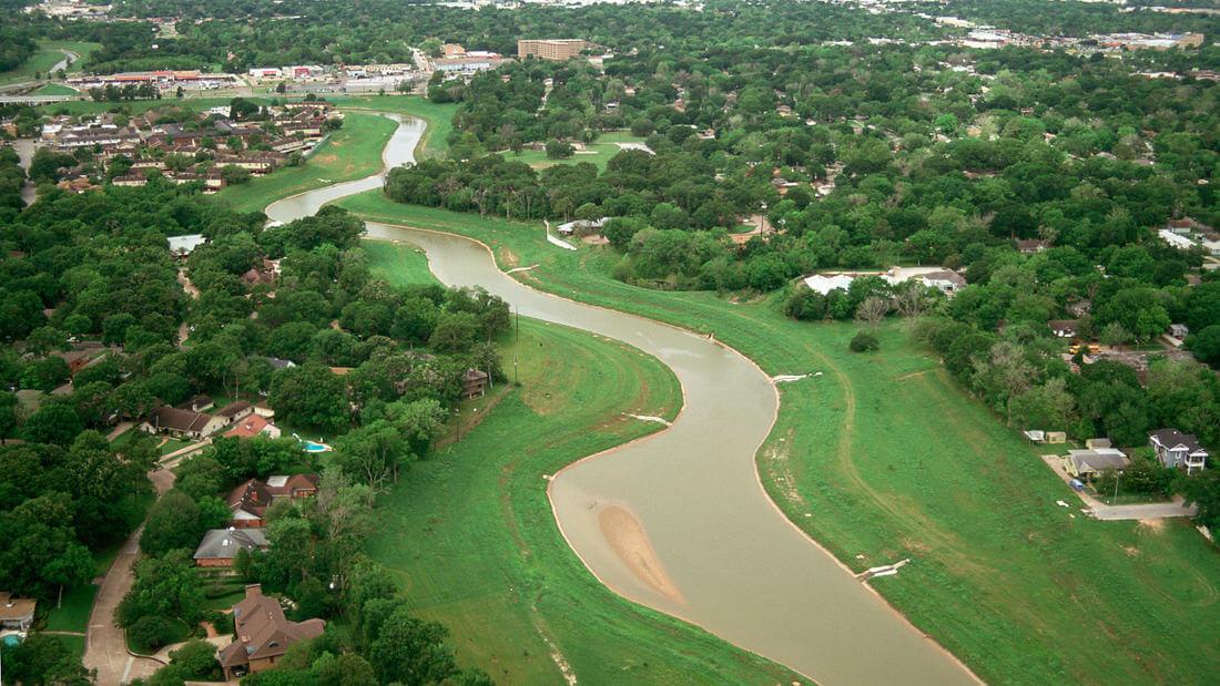 Sims Bayou. Photo courtesy SWA Group