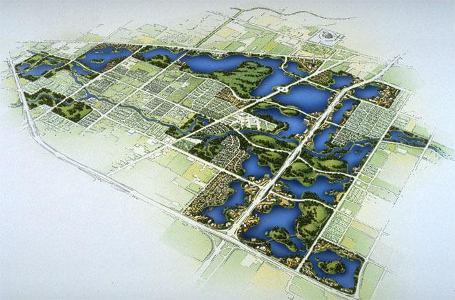 Sims Bayou plan. Photo courtesy of SWA Group