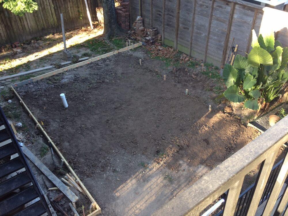 graded garden