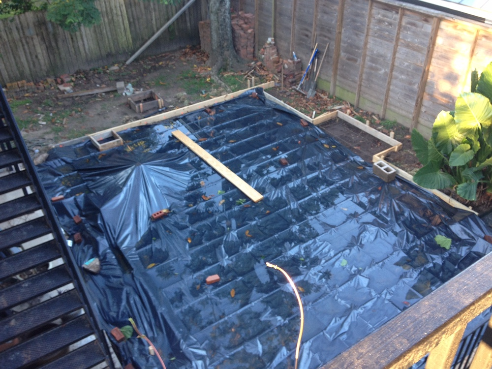 how to set up a garden fish pond